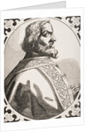 Charlemagne King of the Franks and Lombards by French School