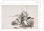 Knights and Men at Arms in the Reign of Louis le Gros by French School