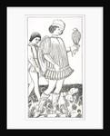 Italian Nobleman Holding a Hawk by French School