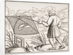 The Pond Fisherman by French School