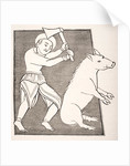 'The Pork Butcher' by French School