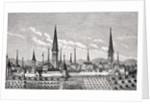 View of Dortmund by French School