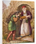 Christian's Arrival at the Wicket Gate by English School