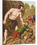 Great-Heart and his companions attack Giant Slay-Good by English School