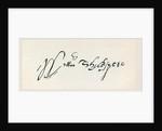 Signature of William Shakespeare by English School