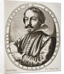 Giambattista Basile, engraved by Nicolaus Perrey by Jacobus Pecini