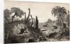 Jurassic Landscape by English School