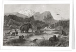 Pliocene Landscape by English School