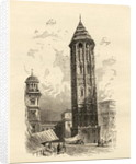 Leaning Tower Saragossa by English School