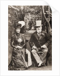King Edward VII and Queen Alexandra by English School