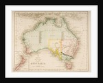 Map of Australia and New Zealand by J. Archer