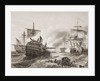 Lord Howe's Victory over the French by English School
