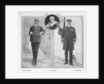 Arthur Henry Rostron, Lord Mersey and Edward John Smith by English Photographer