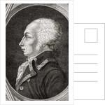 Francois Christophe Kellermann by Jean Baptiste Lienard