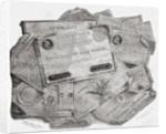 Planche d'assignats by Gerlier