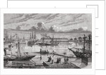 Cherbourg in the 18th century by French School
