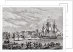 Brest in 1791 by French School