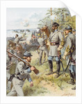 General Stonewall Jackson at the First Battle of Bull Run, 17th August by Henry Alexander Ogden