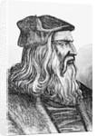 Leonardo Da Vinci by English School