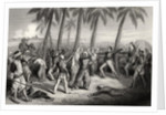 Massacre of the English Officers and their wives at Jhansi in 1857 by English School