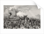 Assault of Delhi and Capture of the Cashmere Gate on by English School