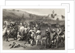 Disarming the 11th Irregular Cavalry at Berhampore in 1857 by English School