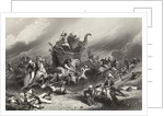 Defeat of the Peishwas army before Jhansi by General Rose on 1st April 1858 by English School