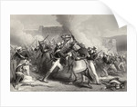 Death of Brigadier Adrian Hope in the attack on the Fort of Roodmow by English School