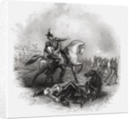 Death of Sir Henry Montgomery Lawrence by English School