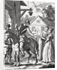 Don Quixote and Sancho Panza at an Inn by William Hogarth