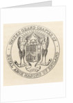 Seal of the United Grand Chapter of Royal Arch Masons of England by English School