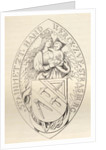 Seal of the Masons of Strasbourg by English School