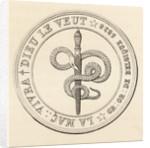 Masonic seal by English School