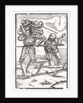 Death comes to the Knight or Count by Hans Holbein The Younger