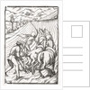 Death comes for the Farmer or Husbandman by Hans Holbein The Younger