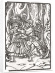 Death comes for the Robber by Hans Holbein The Younger