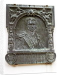 Plaque commemorating the life of Washington Irving and his love of Spain by Spanish School