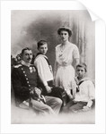 The Danish Royal Family by English Photographer
