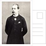 Lord Randolph Churchill by English School