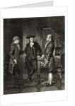 Baron de Kalb introducing Lafayette to Silas Dean by Alonzo Chappel