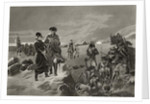 George Washington and La Fayette at Valley Forge by Alonzo Chappel