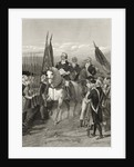 George Washington taking command of the Army by Alonzo Chappel