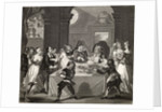 Sancho at the Feast Starved by his Physician by William Hogarth