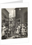 Times of the Day: Noon by William Hogarth