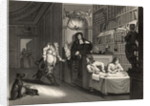 Hudibras with the Lawyer by from 'The Works of William Hogarth'
