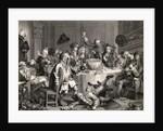 A Midnight Modern Conversation by William Hogarth