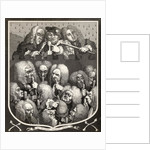 A Consultation of Physicians, or The Company of Undertakers by William Hogarth