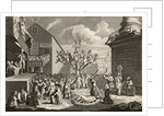 Emblematical print of the South Sea by William Hogarth