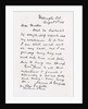 Letter from James Abram Garfield to his mother by James Abram Garfield