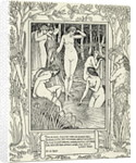 Diana and her nymphs by Walter Crane
